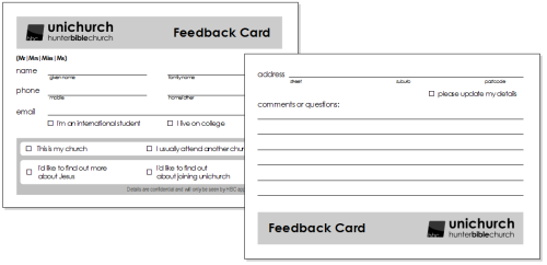 HBC UC FeedbackCards 2013